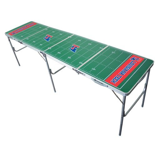 Louisiana Tech 2x8 Tailgate Table by Wild Sports by Wild Sales