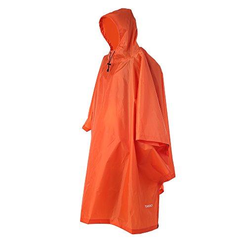 TOMSHOO Regenjas, regenponcho, regenjas, waterdicht, uniseks, camping, tent, campingdeken, tarp, tentzeil, 3-in-1…