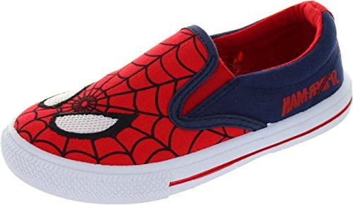 Spiderman  Carlbury, Jungen Schnürhalbschuhe rot rot