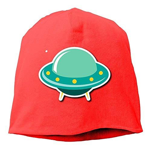 AUUOCC Headscarf Spacecraft Cartoon Hip-Hop Knitted Hat for Mens Womens Fashion Beanie Cap (Beanie Nike Wool)