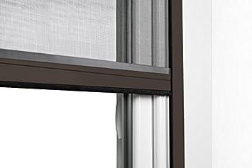 JAROLIFT 4 en 1 Zanzara Moustiquaire pour fen/êtres cadre en aluminium 70 x 130 cm blanc Store de protection contre insecte Moustiquaire en fibre de verre