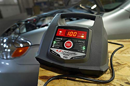 schumacher sc  fully automatic battery charger   engine starter  advanced