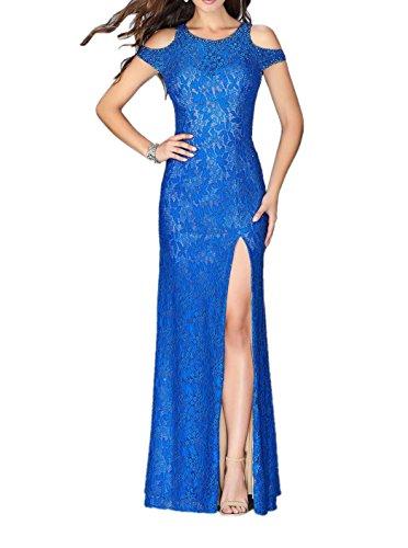 La_Marie Braut Royal Blau Spitze Pailletten Abendkleider Damen Festlich Ballkleider Etuikleider Figurbetont Royal Blau 9iee0EaDuv