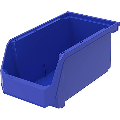 TruForce Plastic Stackable Storage Parts Bins Nest and Hang 30240TF - 14 3/4
