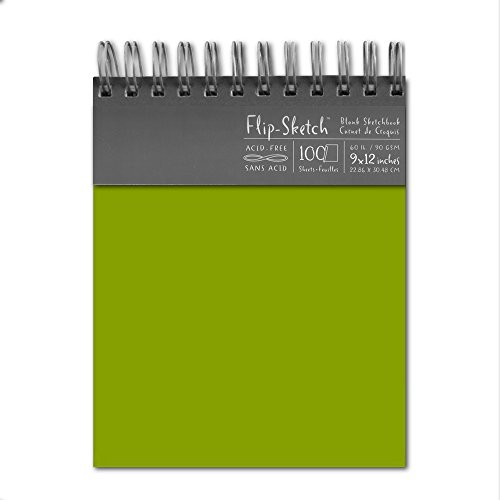 Flip-Sketch Book 9X12 Fern