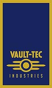 Fallout bandera   vault-tec industrias retrato   3x 5ft/90x 150cm   bandera de larga duración