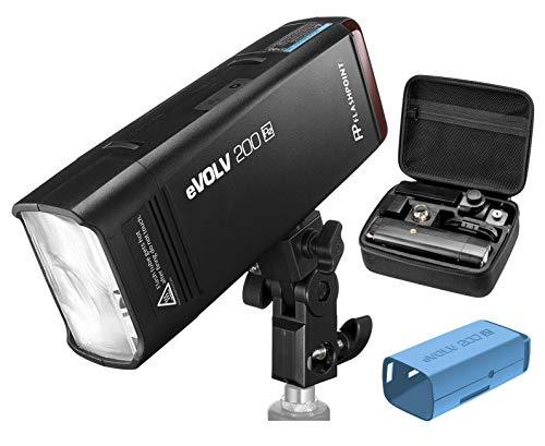 Flashpoint eVOLV 200 TTL Modular Strobe with Built-in R2 2.4GHz Radio Remote System (AD200 Pocket Flash)