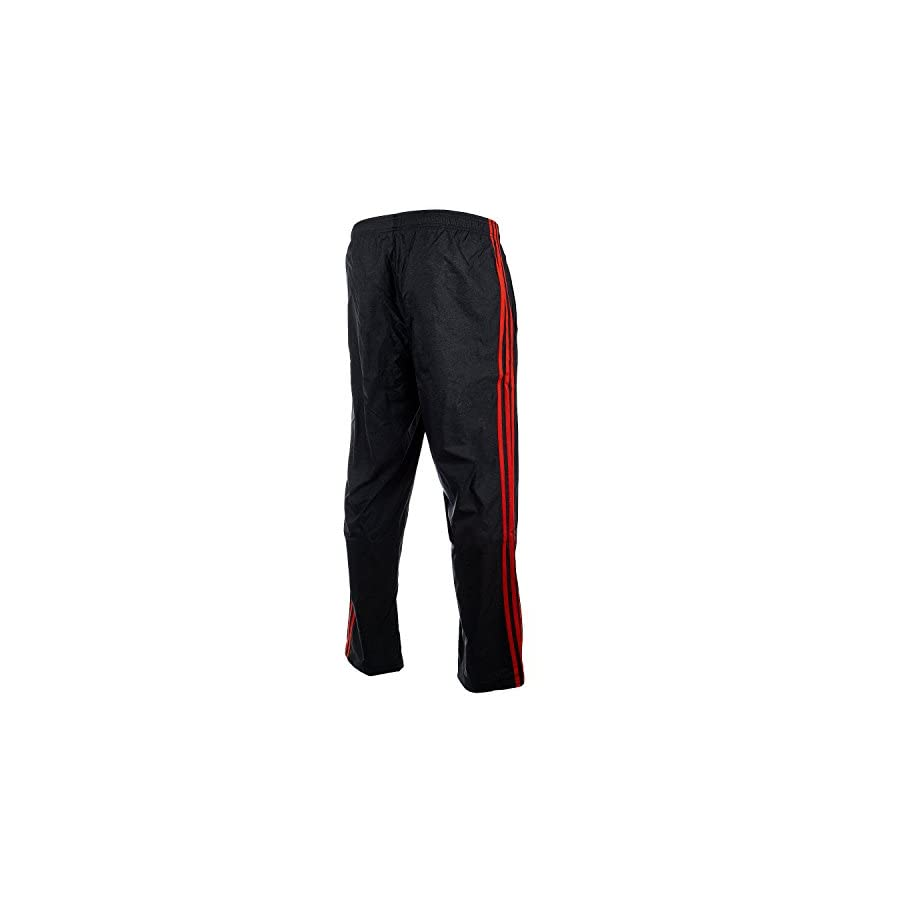 adidas Men's Athletics Essential Pants, Black/Energy, Small