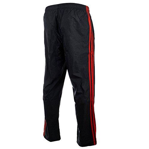 adidas Men's Athletics Essential Pants, Black/Energy, Small