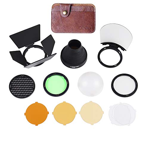 (Godox AD200 Accessories, AK-R1 Accessories Kit for Godox H200R Round Flash)