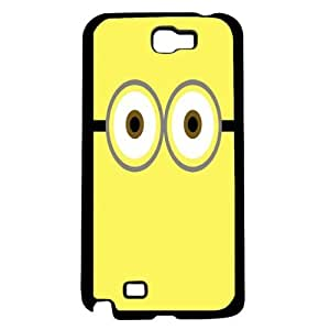 Yellow Despicable Me Inspired Hard Snap On Case (Note 2 II)