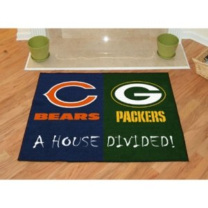 Chicago Bears / Green Bay Packers House Divided NFL All-Star