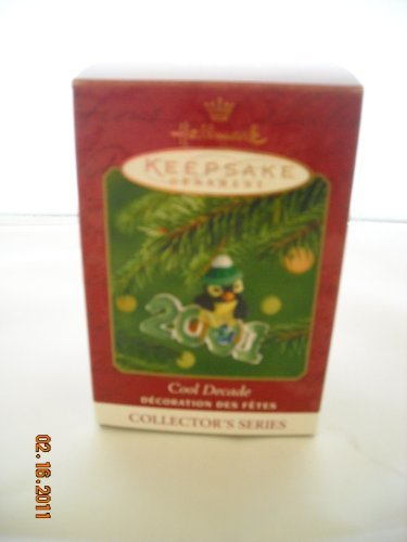 Hallmark Cool Decade 2001 Keepsake Christmas Ornament Collector's Series New with Box