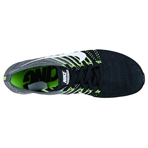 Nike Flyknit Streak, Zapatillas de Running para Mujer Negro (Negro (black/white-dark grey-volt))