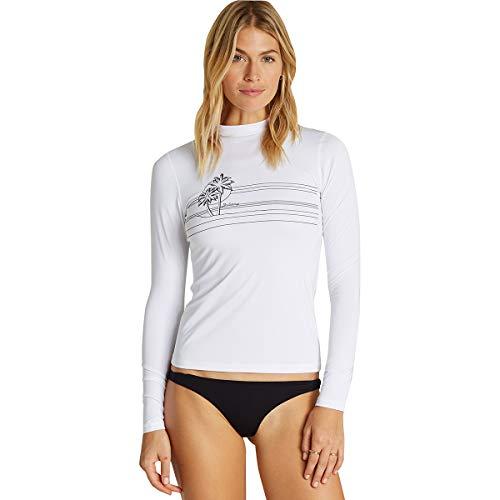 Billabong Core Loose Fit Women's Long-Sleeve Rashguards - White/Medium