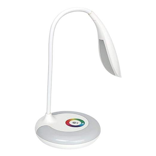 Lifet Lámpara de escritorio infantil con interruptor táctil, luz ...