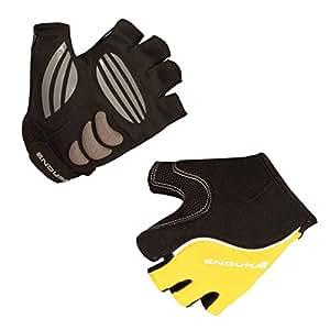 Endura - Rapido Mitts, color amarillo, talla S