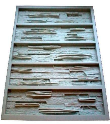 Buckdirect Worldwide Ltd. Los moldes de Poliuretano para baldosas de Cemento de Yeso hormigón Pared de Piedra de Pizarra Shale moldes de Pared Decorativos: ...