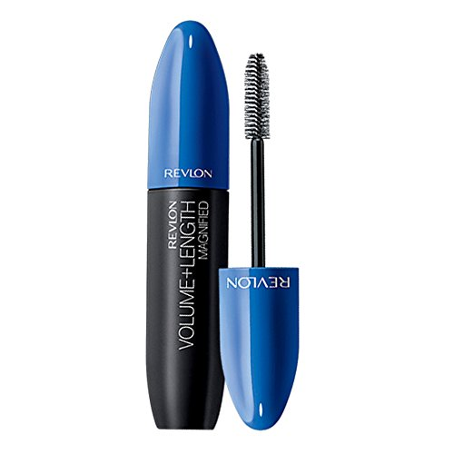 (Revlon Volume + Length Magnified Mascara - Waterproof, Blackest Black, 0.28 fl oz)