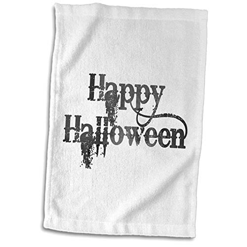 3dRose InspirationzStore - Occasions - Happy Halloween grunge