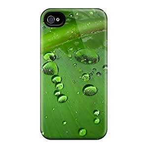 New Customized Design Green Water Drops For Iphone 6 Cases Comfortable For Lovers And Friends For Christmas Gifts