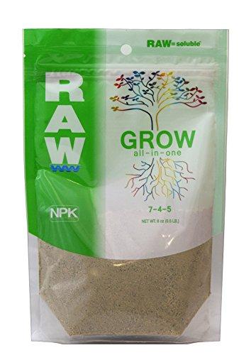 NPK Industries Raw Grow Fertilizers, 8 oz. Fertilizer Npk