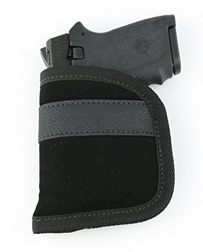 ComfortTac Ultimate Pocket Holster | Ultra Thin For Comfortable Concealed Carry | Fits Pistols and Revolvers From Glock Ruger Taurus Smith and Wesson Kimber Beretta And More (Micro and (Kel Tec Pistols)