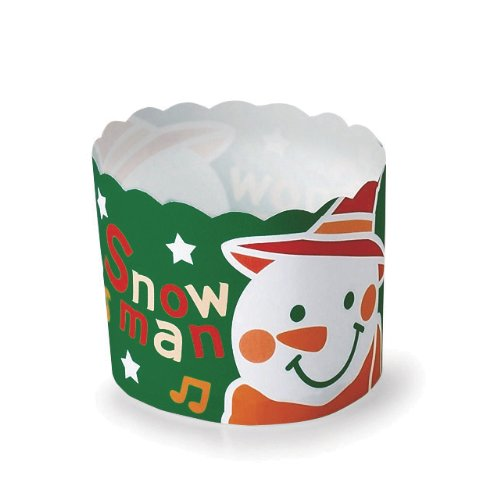 Welcome Home Brands Snowman Baking Cups, 2.3-Inch Diameter by 2-Inch Height, One Case of 500 Units