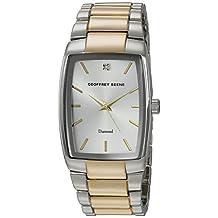 Geoffrey Beene Men's Quartz Metal and Alloy Dress Watch, Color:Two Tone (Model: GB8089TTG)