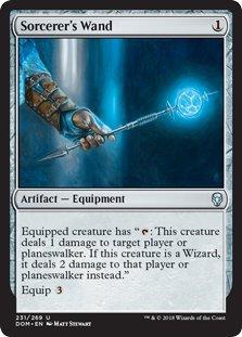 Sorcerer's Wand - Dominaria