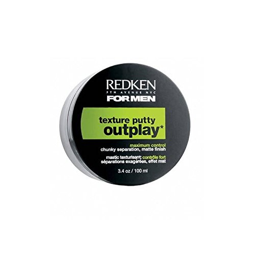 Redken For Men Outplay Texture Putty (100ml) (Pack of 4) by REDKEN