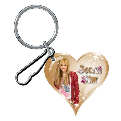 Plasticolor Disney Hannah Montana Domed Key Chain