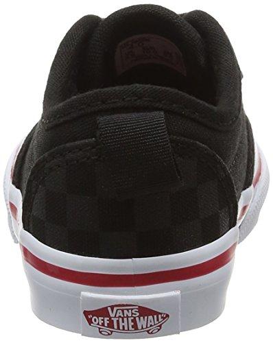 Vans Unisex Baby Atwood Slip-On Sneaker Schwarz (Tonal Checkerboard)
