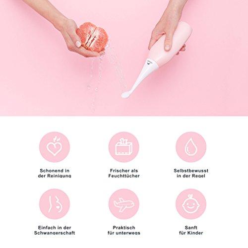 HAPPYPO Bidet fácil, bidé portátil de viaje, ducha femenina y bidé alternativo, higiene íntima de primera clase después del inodoro: Amazon.es: Salud y ...
