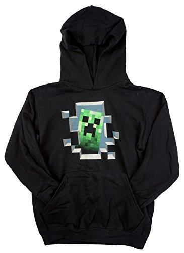 Mojang Niños Oficial Minecraft Píxel Creeper Sudadera Vestido Sudor Talla 12 A 13 años: Amazon.es: Ropa y accesorios