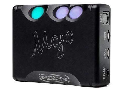 CHORD Electronics Mojo, ultimate DAC/Headphone Amplifier, USB, Coaxial, and Optical, Black