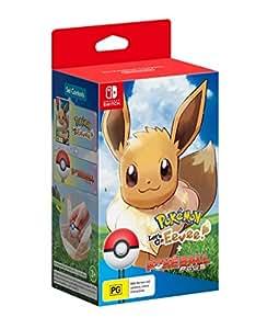 Pokemon: Let's Go, Eevee! + The Poke Ball Plus (Nintendo Switch)