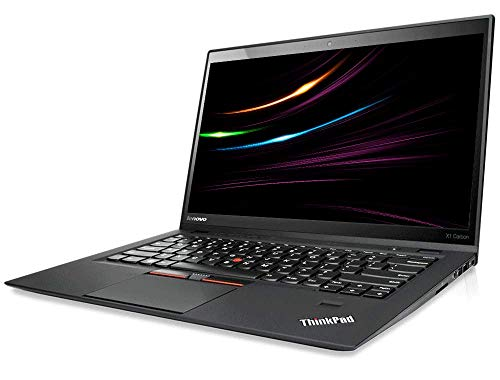 Lenovo ThinkPad X1 Carbon | Intel i5 | 1.8 GHz | 8 GB | 180 GB SSD | 14 Zoll | Webcam | 1600×900 HD | Windows 10 | 5S5…