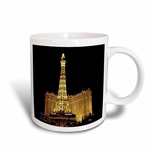 Paris Las Vegas Hotel Casino - 3dRose 156498_3 Paris Hotel Casino in Las Vegas NV Mug