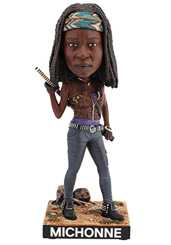 Royal Bobbles - Muneco cabezon de Michonne - The Walking Dead