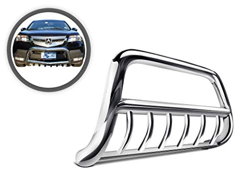 - Vanguard VGUBG-0292SS Stainless Steel Bull Bar with Skid Tube Compatible with 07-09 Acura MDX