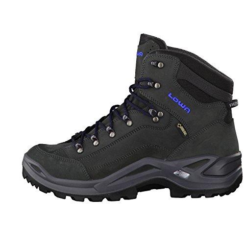 Renegade Boots Grey Mid Blue GTX Women's Lowa Dark Cw4Pq5