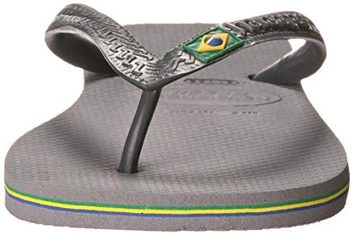 Womens Havaianas Flop Flop Womens Havaianas Sandal Grey Grey Sandal Brazil Steel Womens Steel Brazil Flip Flip Havaianas qwSg0F