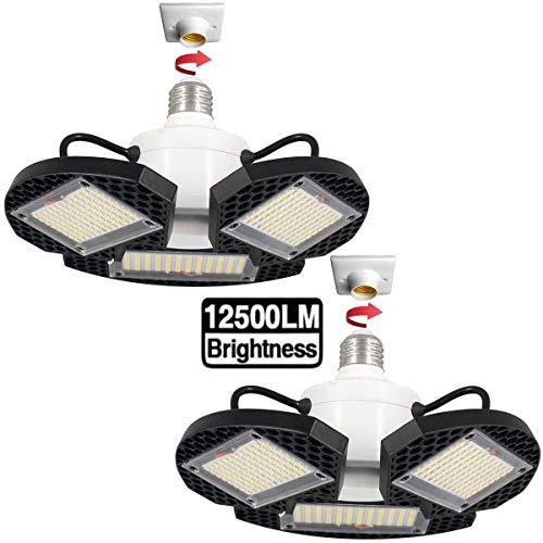 2Pack LED Garage Lights100W