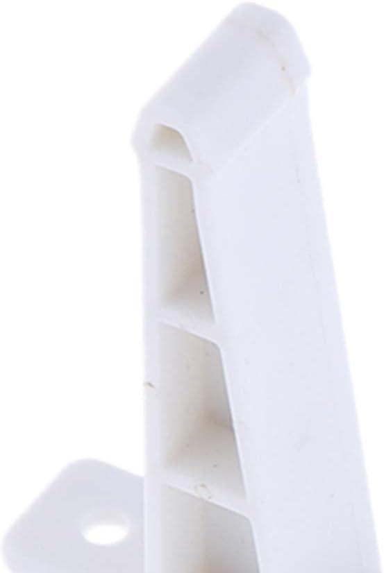 Motor Home Trailer Cargo Trailer White 3 Inch C-Style Door Holder Entry Door Catch for RV Camper