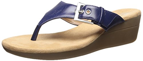 Aerosoles Womens Flower Wedge Sandal