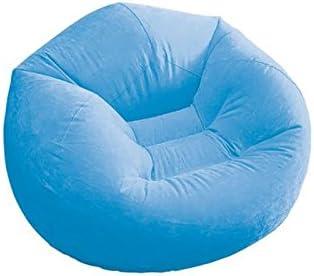 Elitezotec Hinchable Azul puf Silla Camping c/ómoda Acogedor Juego Casa