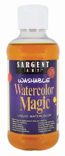 Sargent Art 22-6002 8-Ounce Watercolor Magic, Yellow ()