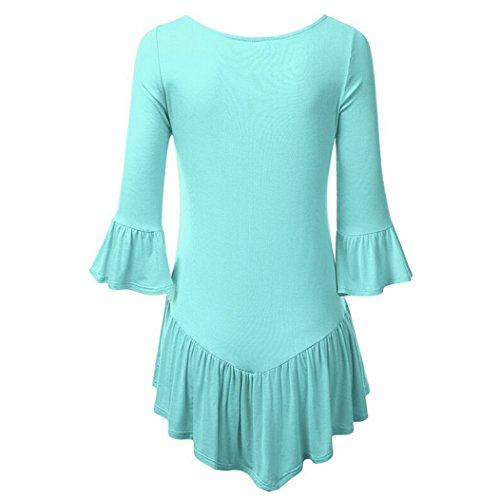 MTTROLI - Camisas - para mujer azul claro