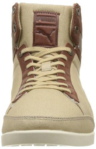 Puma Catskill Mid Canvas - Zapatos de Cordones de tela hombre Beige - Beige (Whey/Brown/White/Bronze)